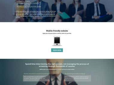 Responsive Wordpress Job Site