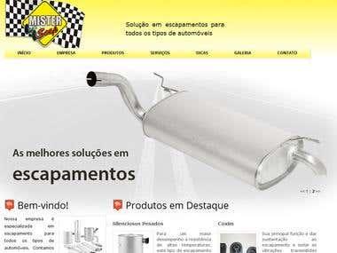 Web Site Building to Mister Scap Escapamentos
