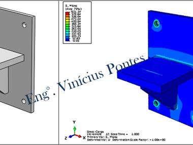 Metallic Bracket Design - Projeto de Console Metálico