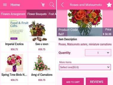 Filipinas Gifts Application