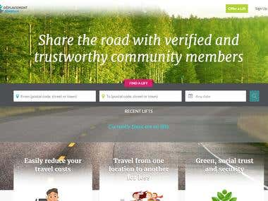 Deplacement(car pooling site)