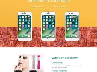 Socoreach Website