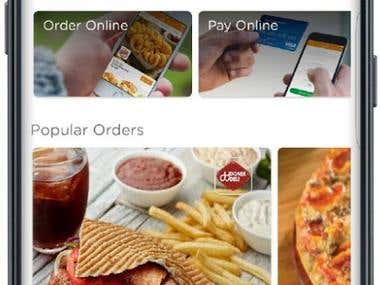 Android APP for Online Food order