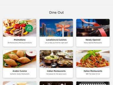 Web Application for Food order online
