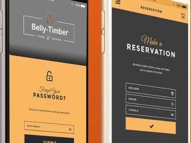 Dine-Dating Mobile app