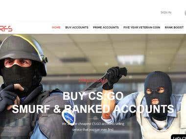 CSGO Ranked accounts