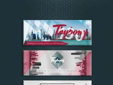 Web Banners for Thybony