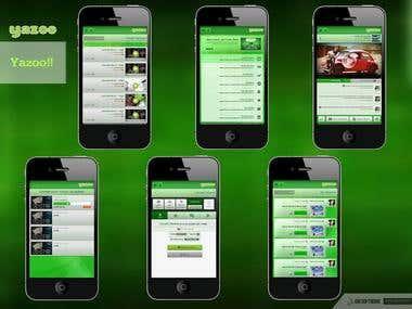 Yazoo Video Sharing App (React Native)