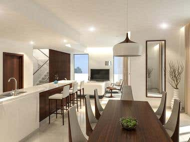 Living and Dining Modern