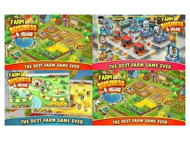 Farm Business Village(Mobile Casual Game,Unity,C#)