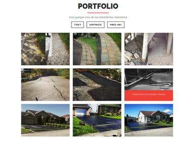 Business Portfolio One Page Bootstrap