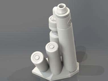 Electronic cigarette composition for 3d printing