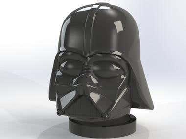 Darth Vader head