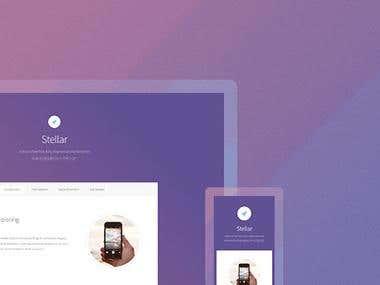 App page - Stellar