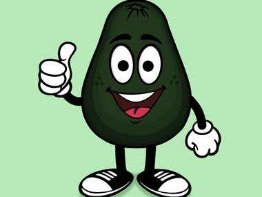 Avocado Character