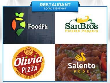 Restaurant/Food (Logo designs)