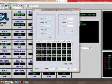 Drill Monitor Desktop Application