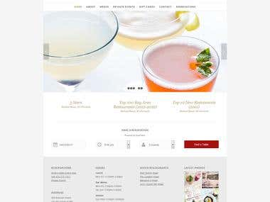 Restaurant based Site