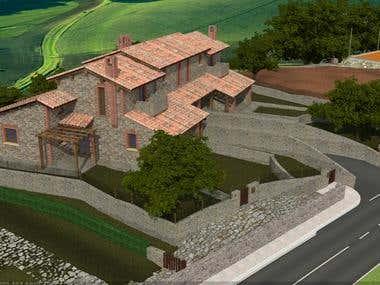 Farmhouse project in Toscana (ITALY)