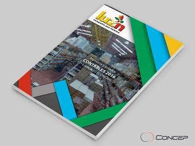 Diseño de Tapa para Informe Financiero