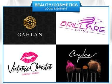 Beauty Cosmetics (Logo designs )