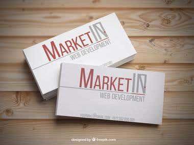 MarketIN New Logo visit cards