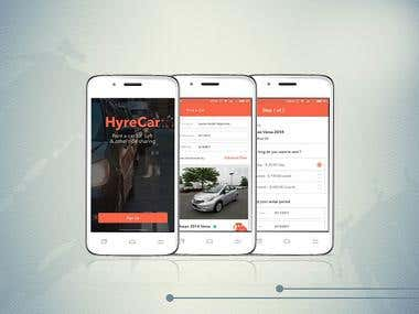 HyreCar Mobile Application