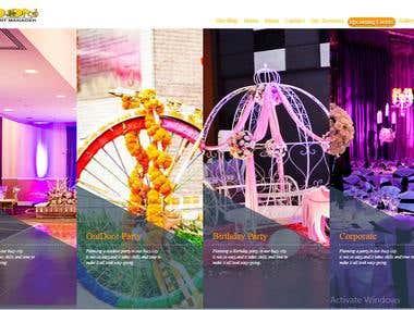 Event Managment Website