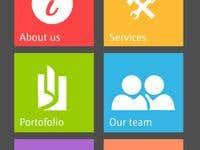 Website design for mobile
