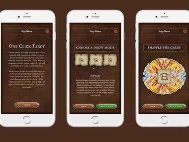 Playing Card Game Ios and Android App