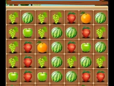 Fruit Link Game for Android/iPhone
