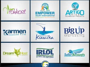 Logo Design Services Real Portfolio