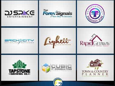 Logo Design Services Real Portfolio