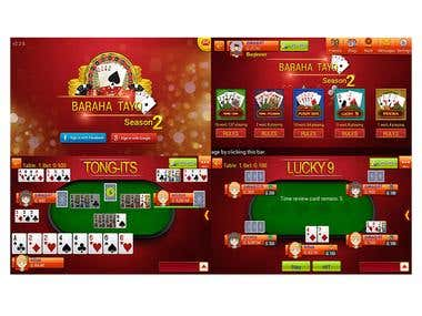 Baraha Tayo(Card Multi player game,Unity3D,C#)