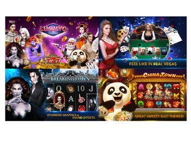 Lucky Win Casino - Free Slots(Slot Game,Unity3D, C#)