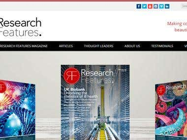 Ressearch Features