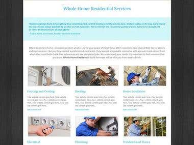 Whole Home Residential Service