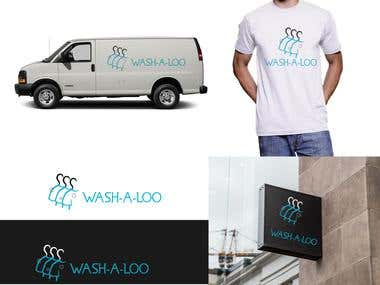 Clothing washing logo