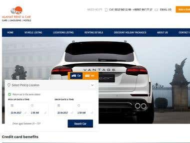 Rent a car Online Reservation and Payments