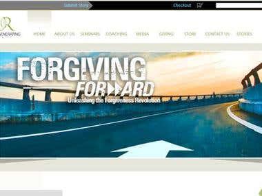 Website for Forgivingforward.com