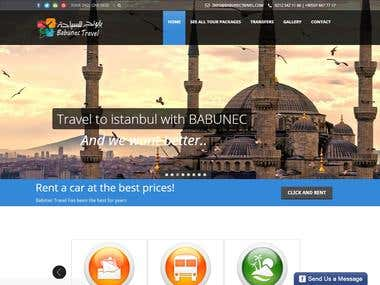 TRAVEL RESERVATİON AND PAYMENTS WEBSİTE