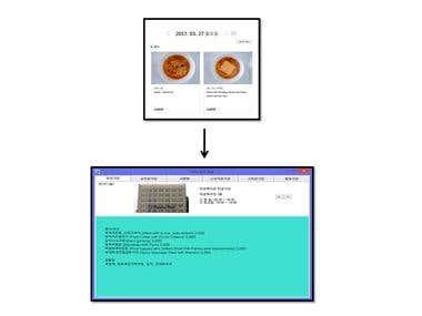 C# - Web Parsing carte menu progrm