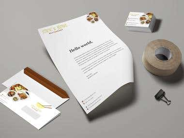 Corporate Identity | Stick & Bowl