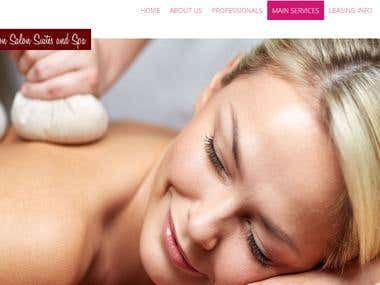 Modern Salon and Spa Website