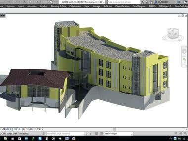 3D BIM DESIGN & MODELING