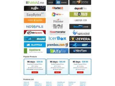 Build online store - Magento 1.8