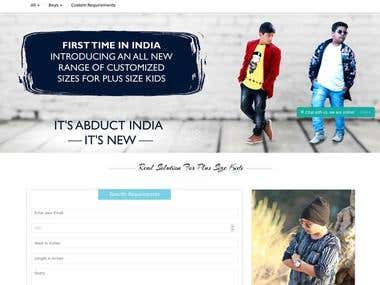 Abduct India :- Online Plus Size Kids Store