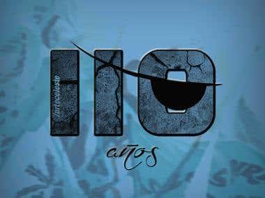 Logo 110 years Club Atletico Belgrano, year 2015