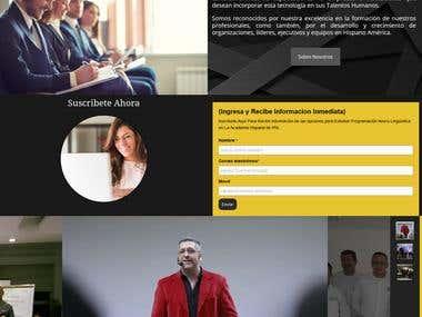 Academia Hispana De PNL (Sitio Web)