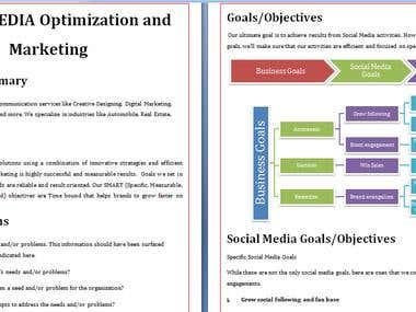 Social Media Marketing Strategy Development